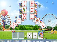 Balloon cards solitaire online
