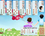 Golf solitaire first love online